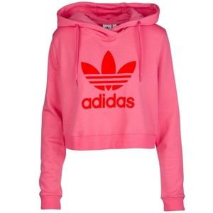 NEW adidas Originals Cropped Hoodie